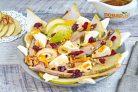 Салат с уткой и грушей