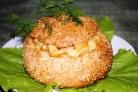 Салат в булочке