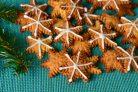 Имбирные пряники Снежинки
