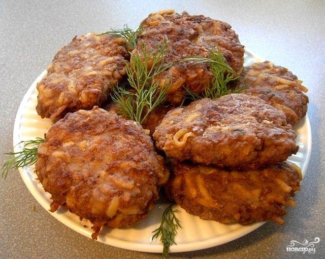 рецепт домашних котлет из говядины и свинины #11