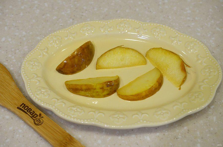 Медальоны с яблоками