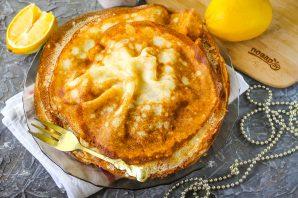 Лимонные блины