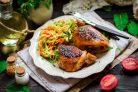 Куриные бедра в соево-медовом соусе