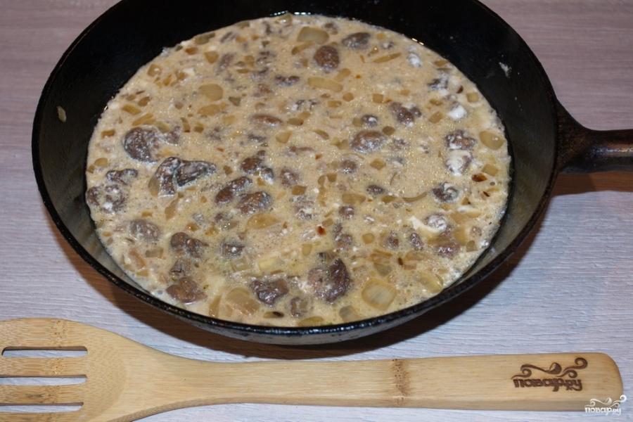 рецепт приготовления грибной подливы