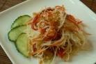 Салат из рисовой лапши по-корейски