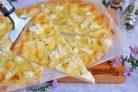 Итальянская пицца Четыре сыра