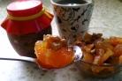 Варенье из айвы и грецких орехов