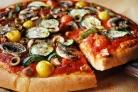 Вегетарианская пицца с грибами