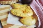 Лепёшки с сыром в духовке