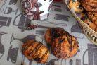 Кокосовое печенье с фруктовой начинкой