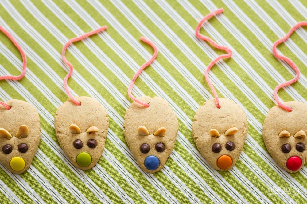 Печенье в виде крыс