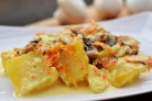 Картошка с грибами в сливках