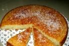 Постный бисквит на манке