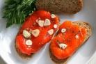 Маринованный печёный перец