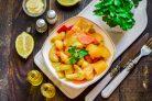 Овощное рагу с кабачками и перцем