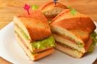 Быстрые бутерброды на стол