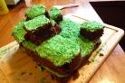 Торт Minecraft