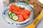 Засолка красной рыбы с коньяком
