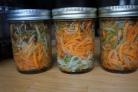 Кабачки с морковкой на зиму без стерилизации