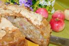 """Яблочный пирог """"Хрустящий"""""""