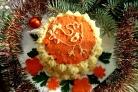 """Новогодний торт """"Кукареку"""""""