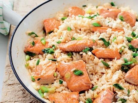 блюда с красной рыбы рецепт фото