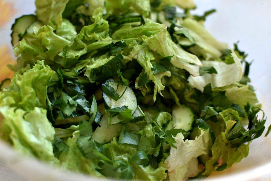 салаты из листьев салата рецепты с фото точности измерьте только