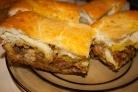 Пирог с капустой и рыбной консервой