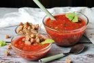 Гаспачо с томатным соком