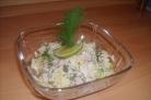 Салат из сельдерея и ветчины