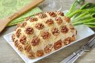Салат Ананас с курицей и сыром