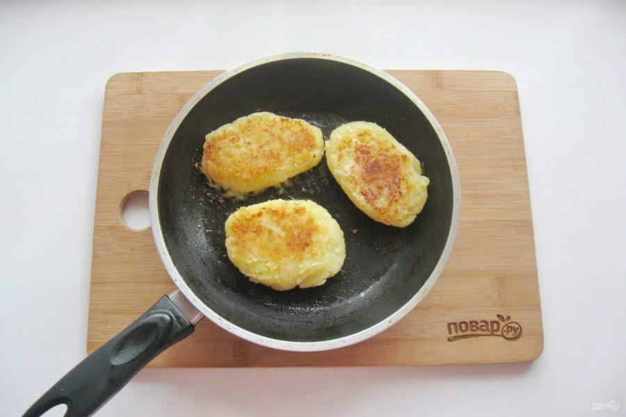 Картофельные оладьи с гречкой