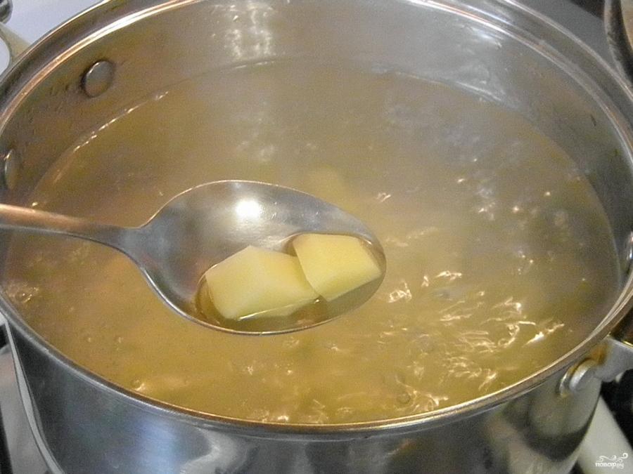 Грибная солянка с картошкой