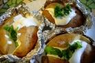 Картофель, запеченный в фольге