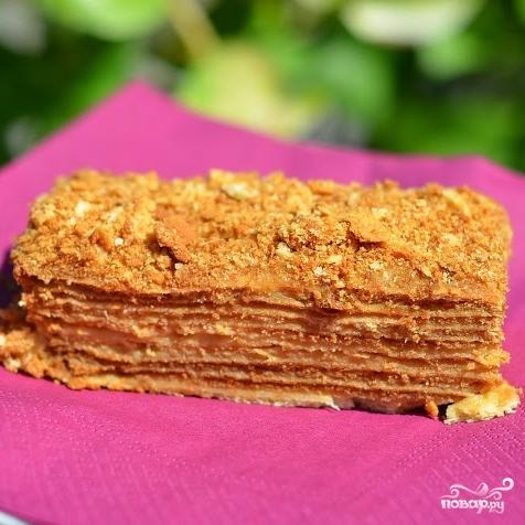 Торт Наполеон по госту