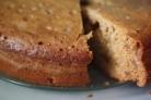 Бисквит с вареньем в мультиварке