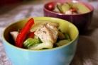 Салат с картофелем и курицей