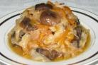 Вкусная капуста с грибами на зиму