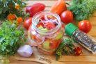 Салат Лакомка из помидор на зиму