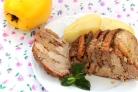 Мясо с айвой в мультиварке