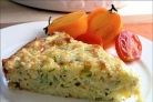 Кабачковая запеканка с сыром