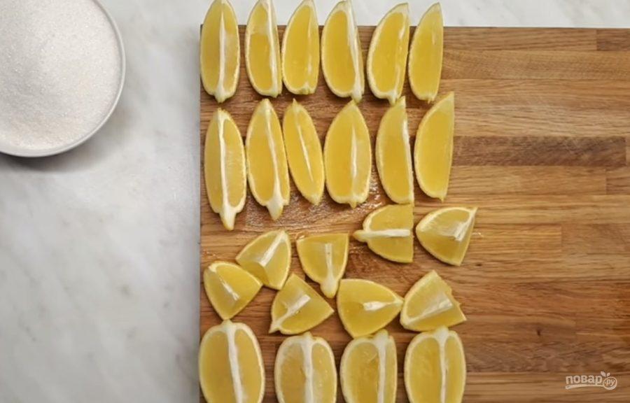 Лимоны вяленые (очень вкусные)
