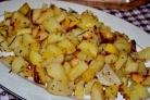Картошка, запеченная с горчицей