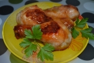 Курица с медом в мультиварке