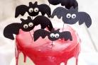 Торт Вампир на Хэллоуин