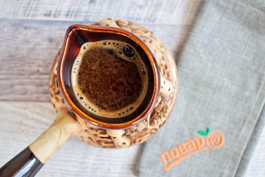 Приготовление кофе по-восточному