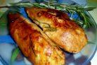 Куриная грудка в медово-розмариновом маринаде