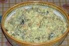 Салат Оливье с капустой