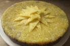 Торт с кусочками ананаса