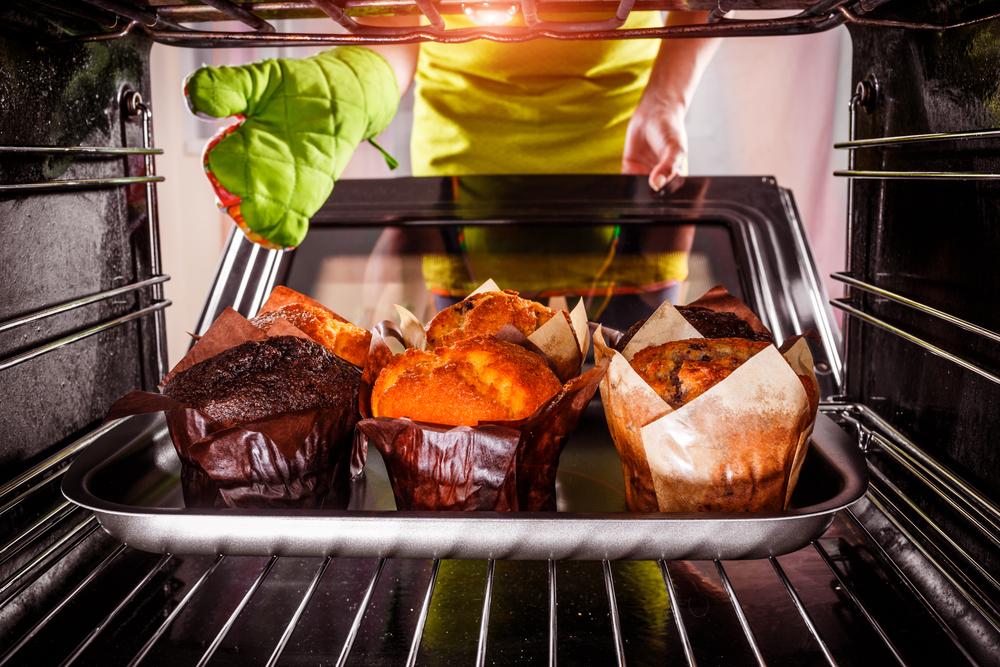 Разогревание заготовок в духовке